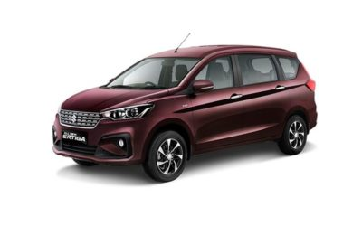 All New Ertiga GX Warna Burgundy