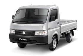 suzuki new carry pick up abu-abu